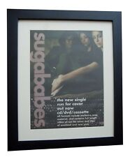 SUGABABES+Run for Cover+POSTER+AD+ORIGINAL 2001+QUALITY FRAMED+FAST GLOBAL SHIP