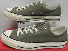 e785690bb686e6 New Mens 10 Converse Chuck Taylor CTAS 70 OX Medium Olive Suede  90 157588C