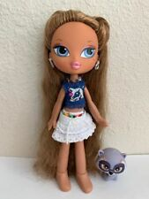 Girlz Girl Bratz Kidz Kid Summer Vacation Yasmin Doll Original Clothes Shoes