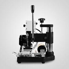 Manuelle Digital-Heißfolienprägemaschine PVC-Karten-Leder Bronzing
