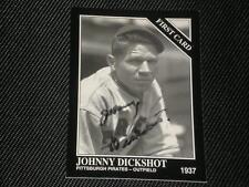 JOHNNY DICKSHOT CONLON COLLECTION AUTO CARD #1286 d.97