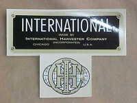 INTERNATIONAL HARVESTER IHC 1.5 HP HIT MISS GAS ENGINE MOTOR DECAL