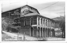 c1940 Piper's Opera House, Virginia City, Nevada Real Photo Postcard/RPPC