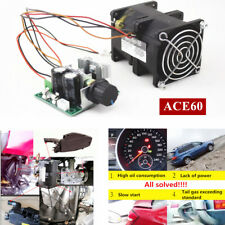 12V Electric turbine supercharger Boost Intake Fan ACE60 3.2A With Potentiometer