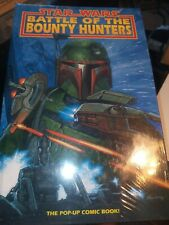 Star Wars Battle of the Bounty Hunters Dark Horse Pop Up Book NEW SEALED Boba