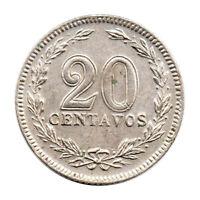 KM# 36 - 20 Centavos - Argentina 1906 (EF)