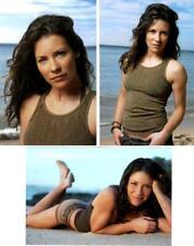 Abc Lost - Evangeline Lily - Kate Austen - 3 Original Photo Shoot On Set 4X6 Lot