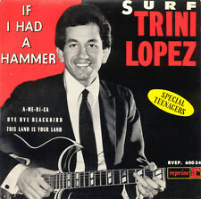 TRINI LOPEZ If I Had A Hammer, Bye Bye Blackbird FR Press Reprise RVEP 60034 EP