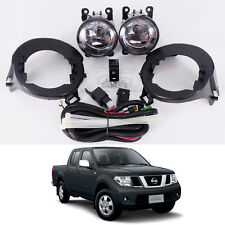 Fog / Spot Light Lamp Set Fit 05 - 14 Nissan Frontier Navara D40 UTE STX