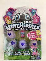 Hatchimals CollEGGtibles 4 Pack Bonus Egg Hatching Season 1