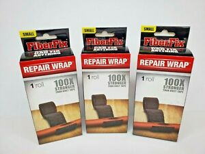 "3 Boxes Small FiberFix 4006 Repair Wrap Fiberglass Waterproof 1"" x 40"" Roll NEW"
