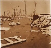 Disastri Da La Grande Guerre 14-18 Francia Foto PL51L14n Placca Vintage