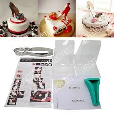 NEW! High heel shoe kit silicone fondant cake template mold mould decorating