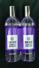 New Body Shop 2 X 100ml White Musk Mist Spray New