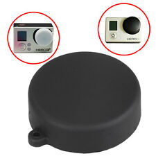 Camera Lens Protective Cap Silicone Protector Cover for GoPro HD HERO 3+ 3 Black