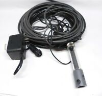 VINTAGE YSI WATER QUALITY PROBE PARTS AND CABLES USED  CONDITION READY FOR USE