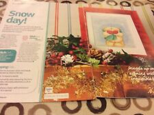 Forever Friends Snow Day Cross stitch chart Only (64)