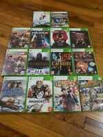 XBOX 360 Mixed Lot of 14 video games