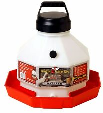 Little Giant Large Capacity Waterer Durable Dent Resistant Withhandle 3 Gallon