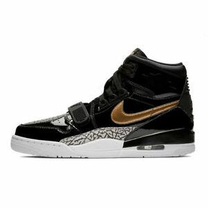 Nike Air Jordan Legacy 312 Black Gold Sneaker Size 11 US Basketball New