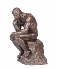 9937077-dss Große Bronze Skulptur Figur Der Denker nach Rodin H63cm