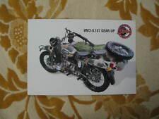 Rare leaflet URAL IMZ-8.107 moto machine gun brochure  Russia 1999