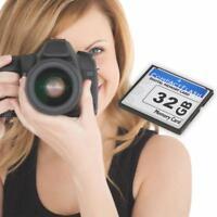 High Speed CF Memory Card Compact Flash CF Card for Digital Camera (32GB)
