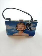 Marylin Monroe blue Handbag