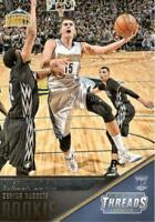 2015-16 Panini Threads Nikola Jokic Rookie #179 Denver Nuggets RC