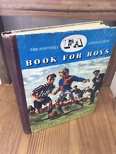 The FA Book For Boys 1950/51 Double Signed Football Soccer