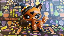 Dotty Love Witch Walking Cat Halloween * OOAK Painted Custom Littlest Pet Shop