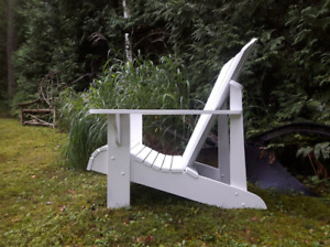 Low Adirondack Chair Plans Classic Design Very Good Shape
