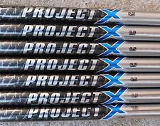 """100% Authentic New 4-PW Project X PXi .355"""" Taper Tip 6.5 (X) Flex Iron Shafts"""