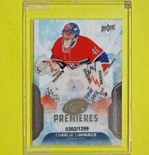 """CHARLIE LINDGREN  16-17 ROOKIE  """"ICE PREMIERES 0302/1299""""  #119   Canadiens"""
