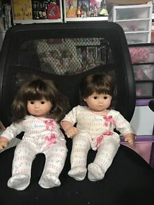 BITTY BABY TWINS BROWN HAIR