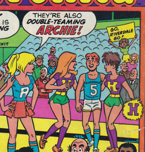 BETTY and VERONICA 328 (1984 Archie) Innuendo C; Cheryl Blossom; Dan DeCarlo art
