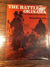 The Battle Of Okinawa By Masahide Ota Hb Book