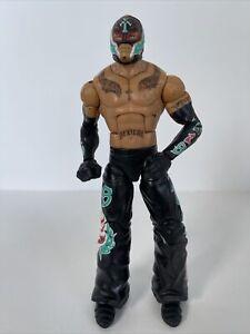 WWE Mattel 2010 Rey Mysterio Elite Wrestling Figure Lucha Rare Wrestler WWF
