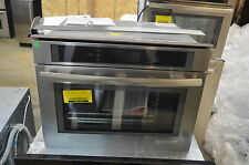 "Jenn-Air JBS7524BS 24"" Stainless Steam Convection Wall Oven NOB #13702"
