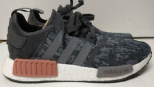 Adidas NMD R1 W Size 9.5 Grey Heather Raw Pink Womens Shoe Sneaker BY9647