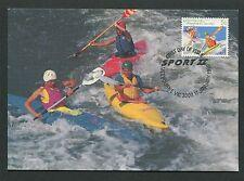 Australia MK Sport Kayak Kayak Canoe canoa maximum scheda MAXIMUM CARD MC cm d7017