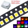 PLCC-2 LED White Red Blue Green Yellow Pink Orange U/Violet 1210 3528 SMD SMT AU
