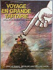 Affiche VOYAGE EN GRANDE TARTARIE Jean-Charles Tacchella BIDEAU 120x160cm *