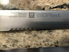 "Zwilling J. A. Henckels Five Star serrated knife Set 5"" and 8"" Made In Germany"