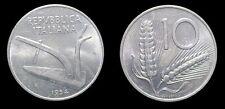 MAGNIFICA 10 LIRE 1954 SPIGHE   REPUBBLICA  RARA  italma  COME NUOVA