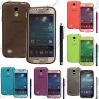 Housse Coque Etui Portefeuille Livre Silicone Samsung Galaxy S4 Mini Plus I9195I