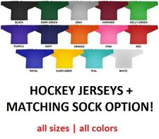 Powertek Hockey Practice Jersey with matching Socks Option! Ice Roller Jerseys