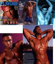 PLAYGIRL 7-97 JULY 1997 HAIRY MILITARY PETE MELUSO! MALE NUDITY IN MOVIES HOLLYW