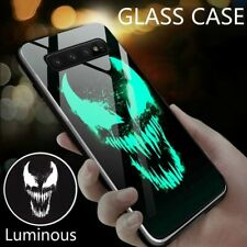 Marvel Ironman Luminous Glass Case Samsung Galaxy For S20 Ultra S9 N9 S10e S10+