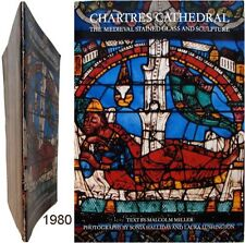 Chartres cathedral medieval stained glass sculpture 1980 Malcolm Miller vitrail